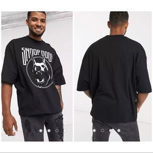 ASOS   Snoop Dogg Oversized Graphic T-Shirt Size S